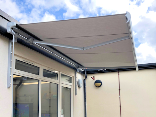 Paddock Primary School Awning Able Canopies Ltd