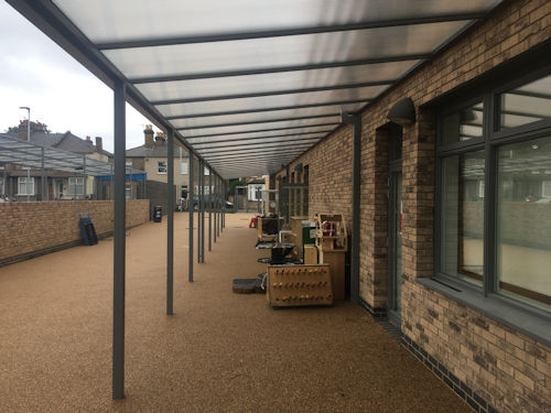 Hounslow Town Primary School Multiple Canopies Able