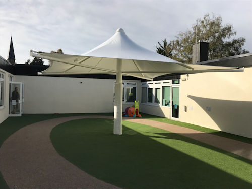 Paddock Primary School Free Standing Canopy Able