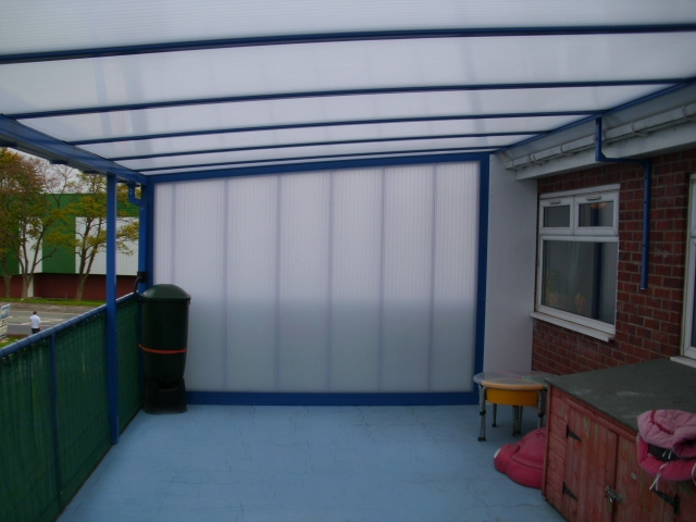 Rosehill Nursery Bolton Wall Mounted Canopy Able Canopies