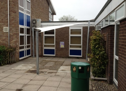 Wroughton Junior School Shade Sails Able Canopies