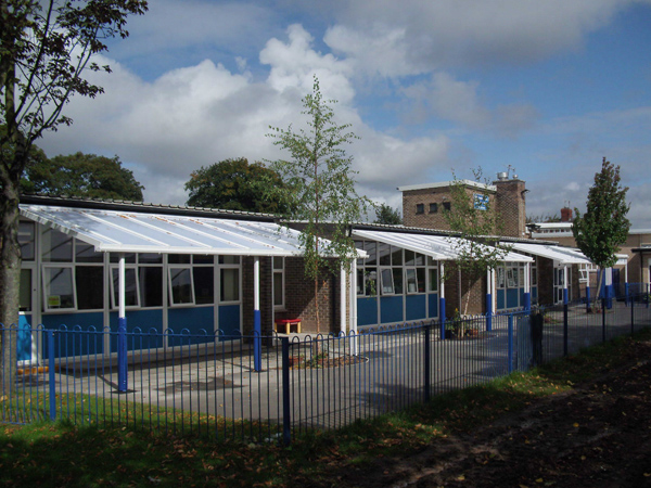 Booker Avenue Infant School 2nd Installation Able Canopies