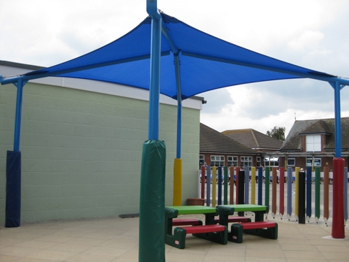 Little Clacton Pre School Free Standing Canopy Able