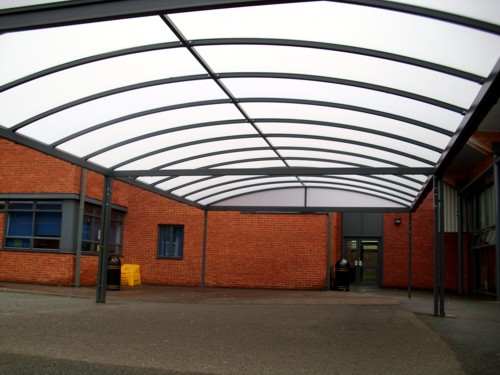 Helsby High School Free Standing Canopy Able Canopies