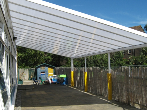 Parkway Primary School Erith Wall Mounted Canopy Able