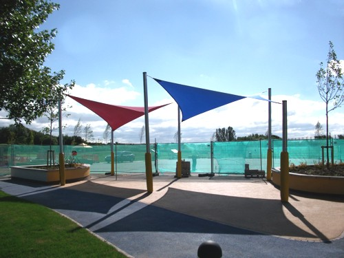 Castle wood school coventry shade sails able canopies for Colorado shade sail