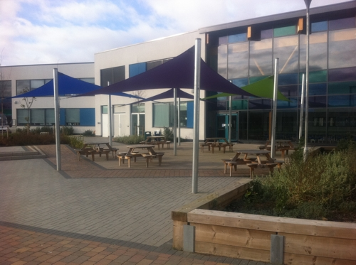 Challney High School For Girls Shade Sails Able Canopies