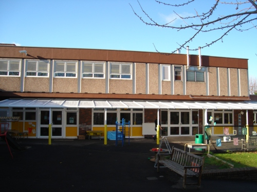 South Rise Primary School Wall Mounted Canopy London
