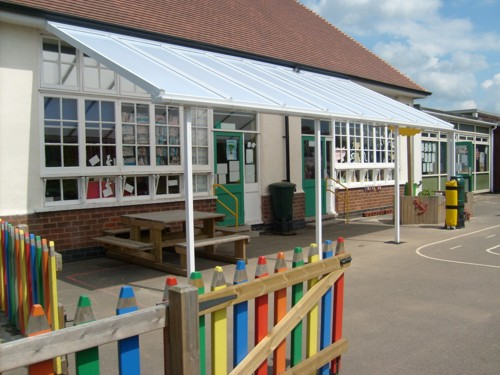 Orston Primary School Orston Wall Mounted Canopy Able