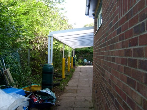 Barnham Broom C Of E Primary School Wall Mounted Canopy