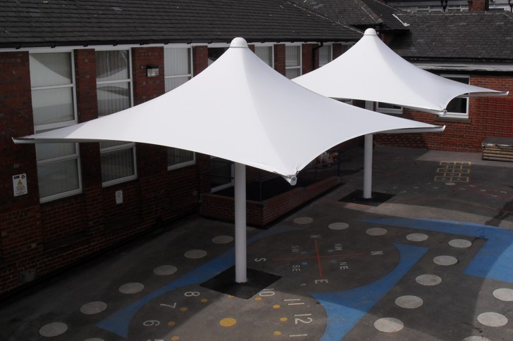 Hucklow Primary School Sheffield Free Standing Umbrella