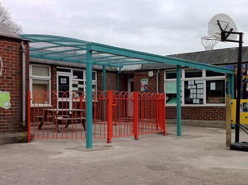 St Saviours Primary School London 2nd Free Standing Canopy