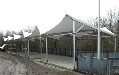 Kingswood Dearne Valley Centre Doncaster Tensile Fabric