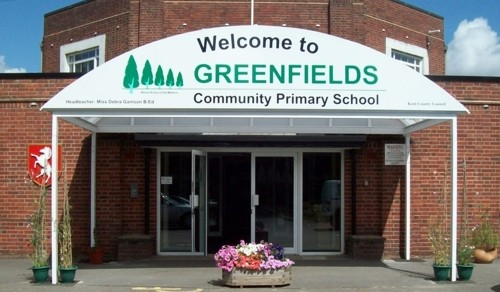 Greenfields Community Primary School Maidstone Entrance