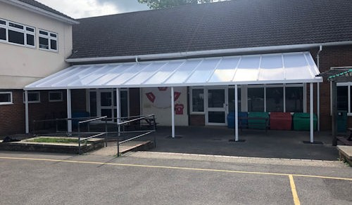 The Hermitage School Second Install Able Canopies Ltd