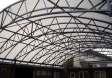 Bishop Milner Catholic School - Large Free Standing Canopy