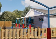 Torre Church of England Primary School - Wall Mounted Canopy