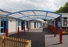 Torre Church of England Primary School - Welford Dome Junior Free Standing Canopy