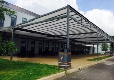 RSA Academy - Double Grange Freestanding Canopy