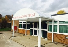 Marish Primary School - Two Entrance Canopies