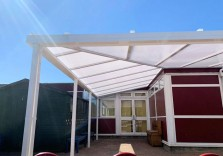Perryfields Infant School - Wall Mounted Canopy