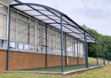 Ringland Primary School - Free Standing Canopy
