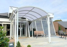 Leaf Hotels Group - Free Standing Canopy