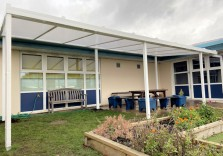 The Brier School - Wall Mounted Canopies
