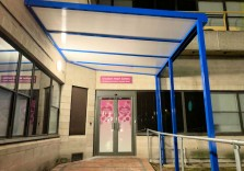 Croydon University Hospital - Wall Mounted Canopies