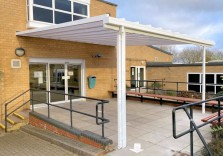 Vandyke Upper School - Wall Mounted Canopies