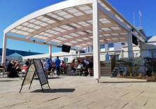Trecco Bay Holiday Park - Timber Outside Dining Canopy