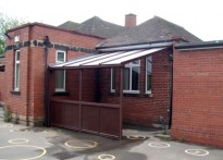 Montagu Primary School - Wall Mounted Canopy