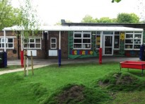 Totley Primary School - Wall Mounted Canopy