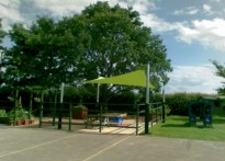 Clare Community Primary School - Shade Sail