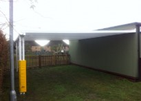 St Nicholas C of E Infant School - Wall Mounted Canopy - 3rd Installation
