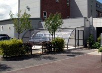 Sir Tom Finney Sports Centre - Bespoke Cycle Shelter