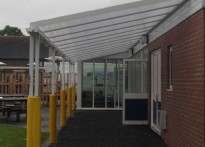 Kids Fun Club - Wall Mounted Canopy