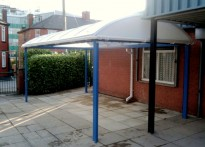 Moston Lane Primary School - Free Standing Canopy