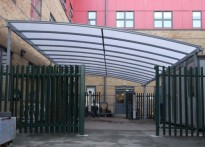 Parrs Wood High School - Free Standing Canopy
