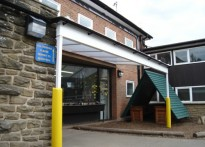 St Wilfred's RC Primary School - Wall Mounted Canopy