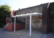 Westways Primary School - Wall Muonted Canopy