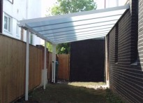 Queensway Pre-School - Wall Mounted Canopy