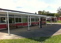 Wray Common Primary School - Wall Mounted Canopy - 3rd Installation