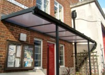 Wallington Fire Station - Wall Mounted Canopy