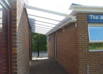 St Andrews Church - Wall Mounted Canopy