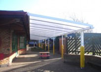 Sythwood Primary School - Wall Mounted Walkway