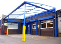 Smithy Bridge Primary School - Free Standing Canopy - 2nd Installation