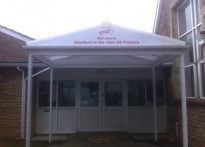 Stanford-in-the-Vale CE Primary School - Entrance Canopy