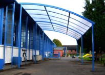 St Peter's Church in Wales Primary School - Free Standing Canopy