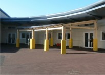 Park Community Primary School - Timber Canopy - 1st Installation
